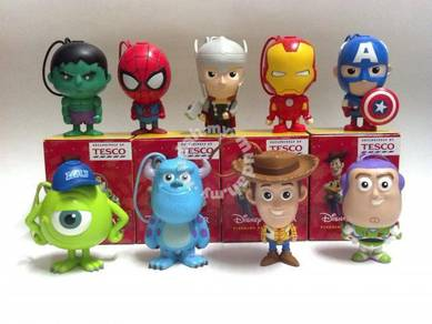 Tesco Marvel & Disney Complete Set