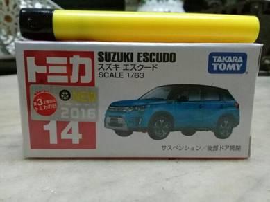 119 Tomica suzuki escudo not hotwheels