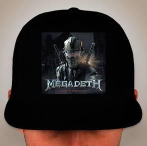 Megadeth Live in MALAYSIA snapback