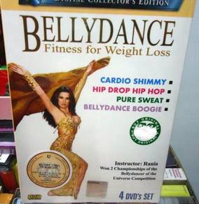 DVD BELLY DANCE Fitness for Weight Loss (4DVD set)