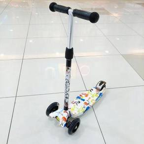 (3) THREE Wheels SCOOTER colourful skuter kids/