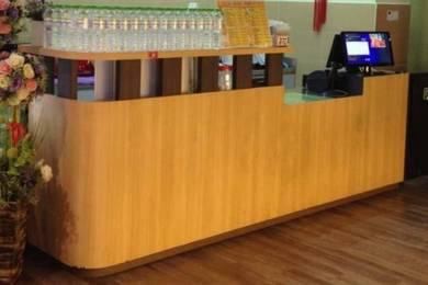 Cashier Counter cabinet & Kitchen washing Cabinet