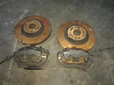 Subaru GC8 impreza STI Front Brake kit