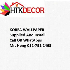 Pretty Wallcovering with Installation A24G