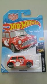 HotWheels Morris Mini Red Nightburnerz