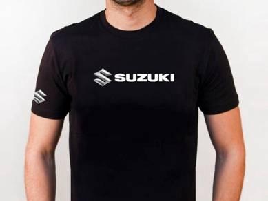 Baju T-Shirt SUZUKI II NSQ136 siap poslaju