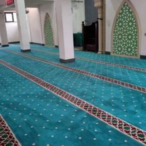 Karpet surau masjid menarik uzairayyan