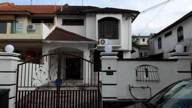 2 Storey End Lot House Tun Aminah Jalan Hang Tuah