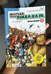 Buku komik aksi