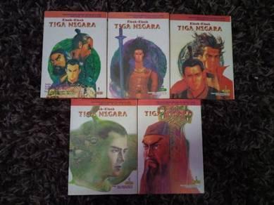 Kisah-kisah Tiga Negara Jilid 1-5