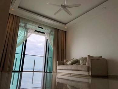Marinox Sky Villa Seaview Full Furnish at tanjung tokong high floor