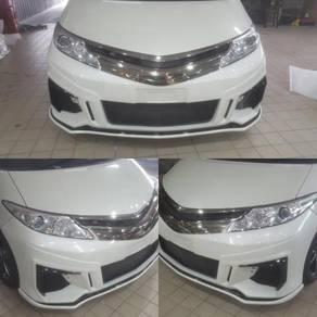 Toyota estima acr50 2009-11 j-emotion front bumper