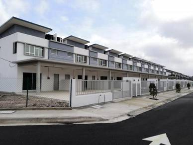 Raub newly completed 2-storey terrace with CF