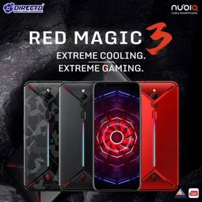 NUBIA RED Magic 3 (8GB RAM | 128GB ROM) MODEL BARU