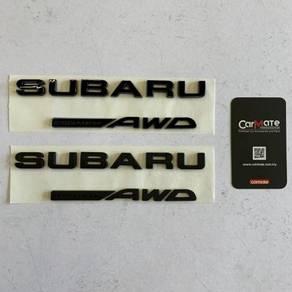 Subaru Symmetrical AWD Logo Emblem Subaru WRX STI