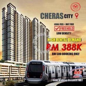 CHERAS FREEHOLD New Project Baru Walk MRT l 500 Booking Fee
