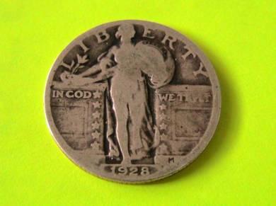 1928 25C Standing Liberty Quarter