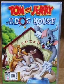 DVD CARTOON TOM & JERRY In The Dog House