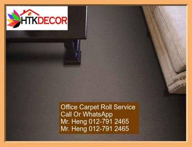 Classic Plain Design Carpet Roll with Install MN46