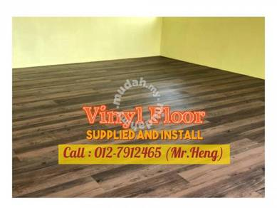Natural Wood PVC Vinyl Floor - With Install PL95