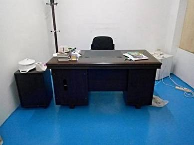 Office table and Fridge