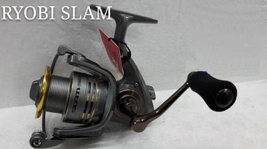 NEW RYOBI SLAM GREY NCRT 1000~6000 Fishing Reel