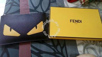 Fendi Roma Original Leather Clutch Bag