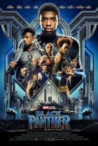 Poster MOVIE Black Panther (2018) V A