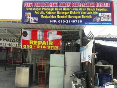 Sale and servis dan repair barang electric