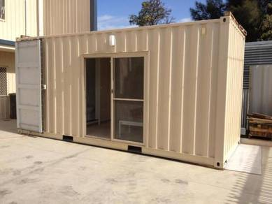 Container Ventilated furnished Office