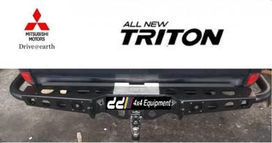 NEW triton 4D56 marco rear bull bar bumper 4WD 4X4