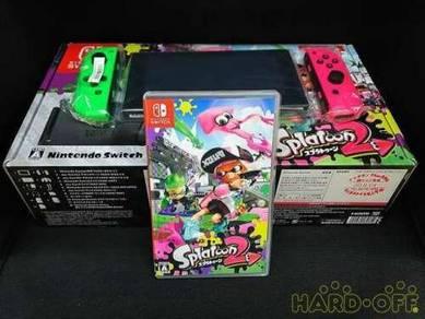 Nintendo Swich Xaj10030483803 Hac 001 Splatoon 2 S