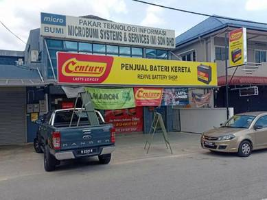 Century motolite car battery bateri kereta NS40