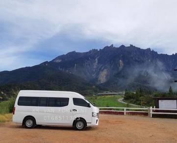 Rental Van sewa island hopping holiday
