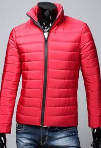 Korean Stylish Down Sweater Jacket Red