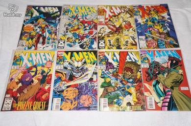 X-MEN. 1991 series issue 17-24. Collector's Set