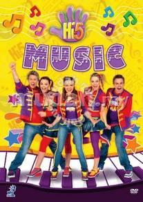 DVD Hi-5 Music 5 Episodes Australia Series