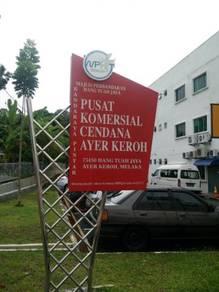 2 nd Floor Shop Lot at Pusat Komersial Cendana Ayer Keroh