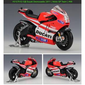 Maisto 1:18 2011 Ducati #69 MotoGP Diecast Motor