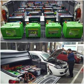 Bateri second hand used battery delivery