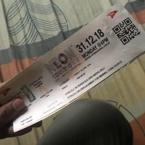 Neon ticket