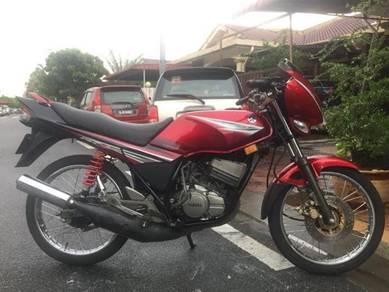 2009 yamaha rxz catalyzer