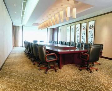 Office Shop Carpet / Commercial Karpet Tiles