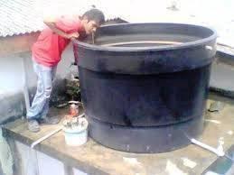 Mohd afik tukar pasang tangki air wangsa maju