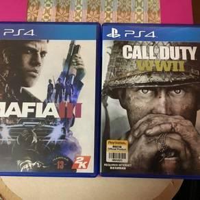 Call of duty ww2 & Mafia3