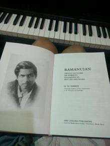 Srinivasa Ramanujan - g.h hardy