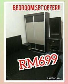 Full bedroom set murah/jimat
