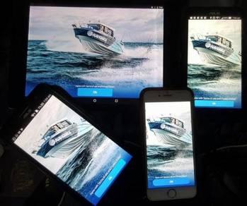 GPS Laut Terus Dalam Fon Tanpa Data Garmin