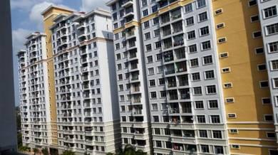HIGH LOAN Kip Villa Indah Apartment, Taman Tampoi Indah