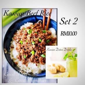 Halal Kossun Beef Rice